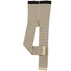 Color Block Leggings Black