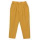 Solid Pleated Pant Mustard