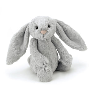 A Medium Bashful Silver Bunny