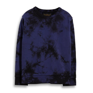 Brian Tie-Dye Sweater Navy