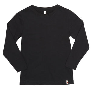 Basic Long Sleeve T-Shirt Black