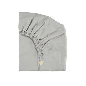 Fitted Sheet Feather Grey