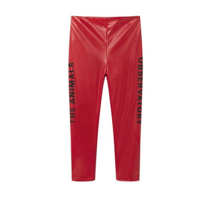 Chicken Pants Apple Red