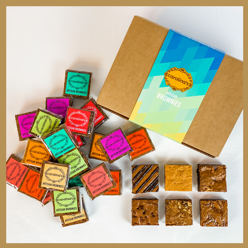 Carolina's Artisan Brownies - box of 24 assorted brownies