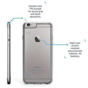 Inskin [Crystalline] Scratch Resistant Clear Hybrid Case for iPhone 6 / 6S 4.7 inch. - Inskin Inc.