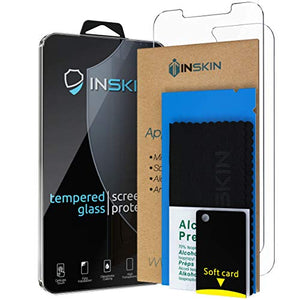 Inskin 2-in-1 Front and Back Tempered Glass Screen Protector, fits Apple iPhone 12 6.1 inch. - Inskin Inc.