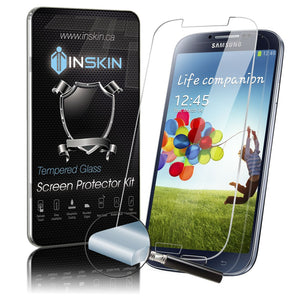 Inskin Case-Friendly Tempered Glass Screen Protector, fits Samsung Galaxy S4. 1-Pack.