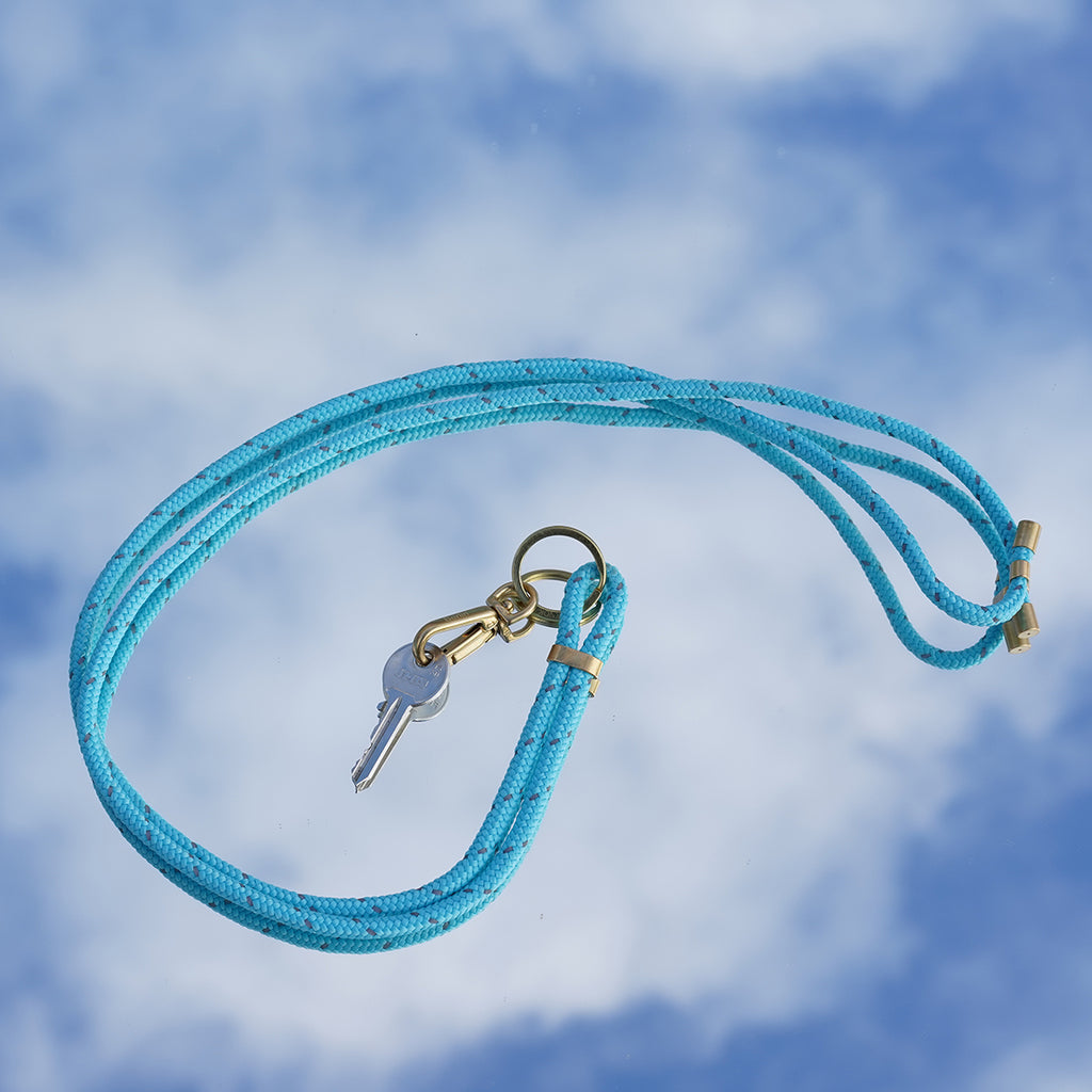 Reflect Neon Turquoise Necklace