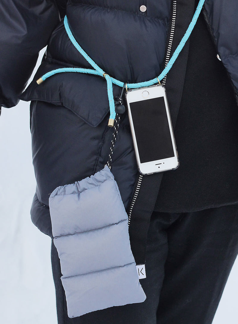 Smartphone pouch - Grey