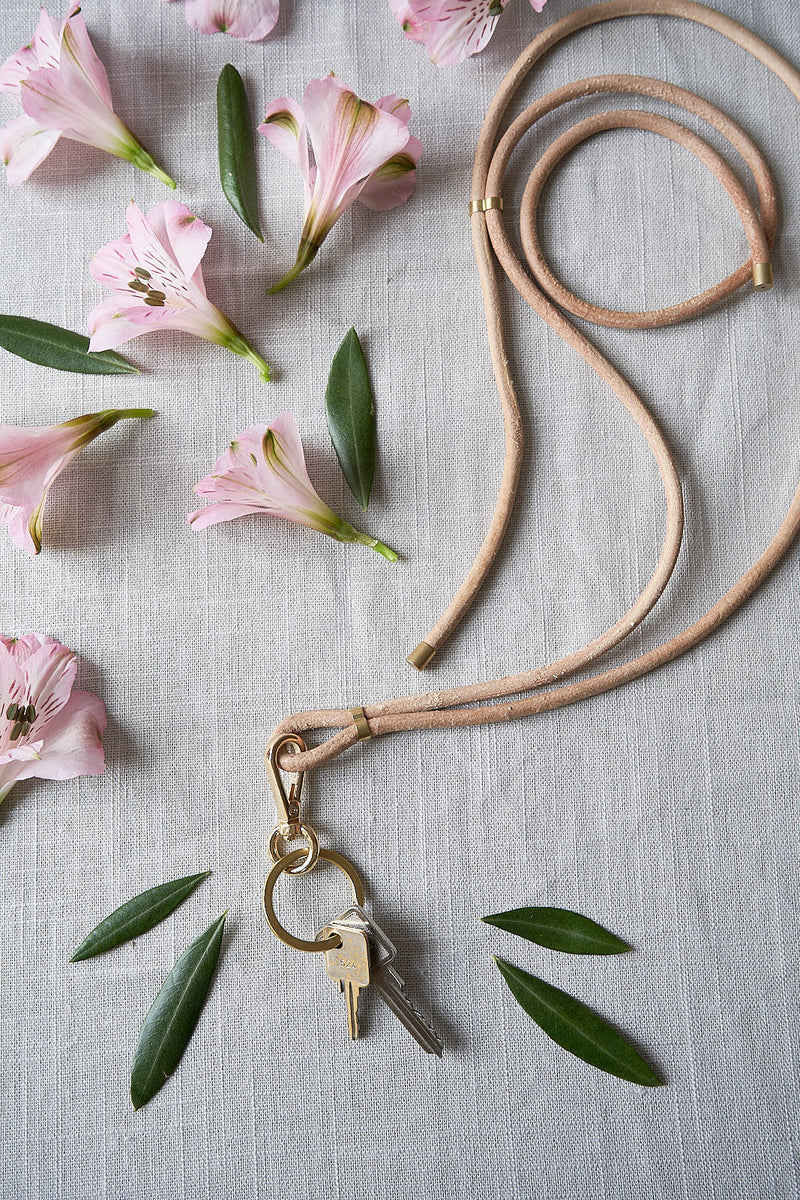 Natural Leather Necklace