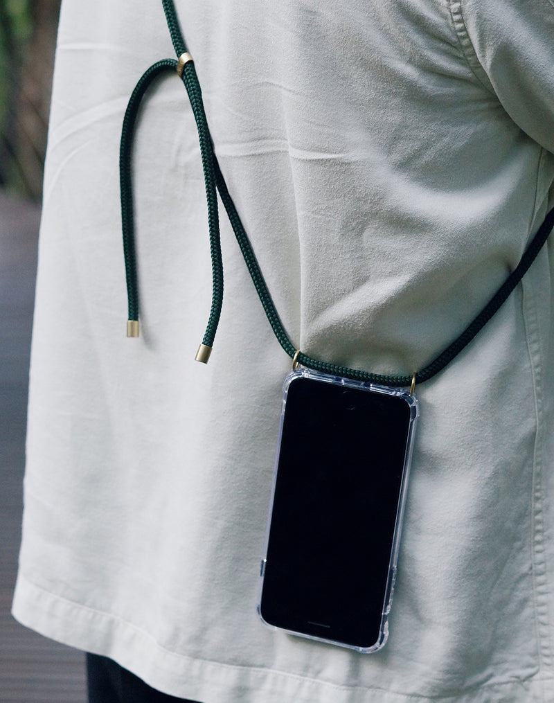 Phone Necklace - Forest Green - KNOK Berlin