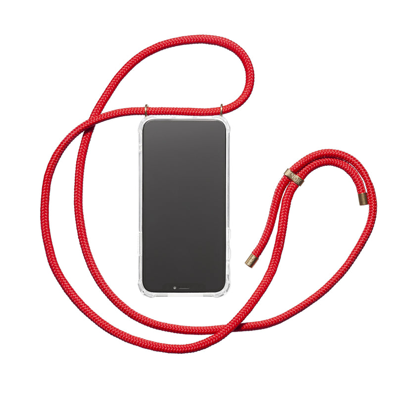 Phone Necklace - Red - KNOK Berlin