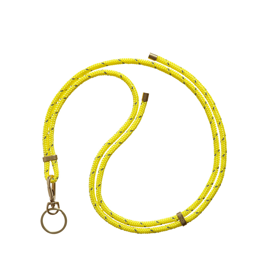 Reflect Neon Yellow Necklace