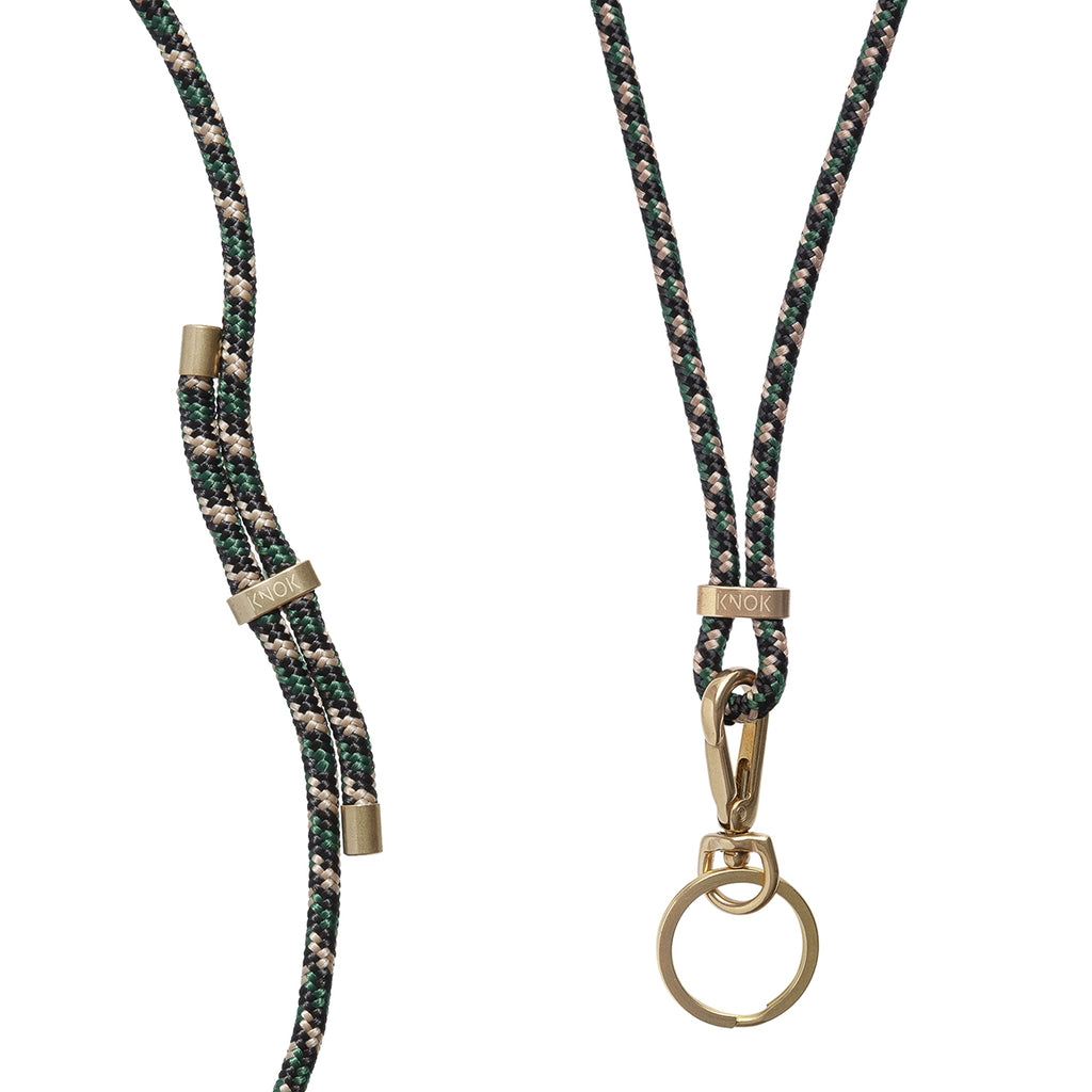 Green Camo Necklace