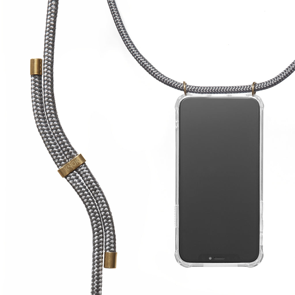 Phone Necklace - Grey - KNOK Berlin