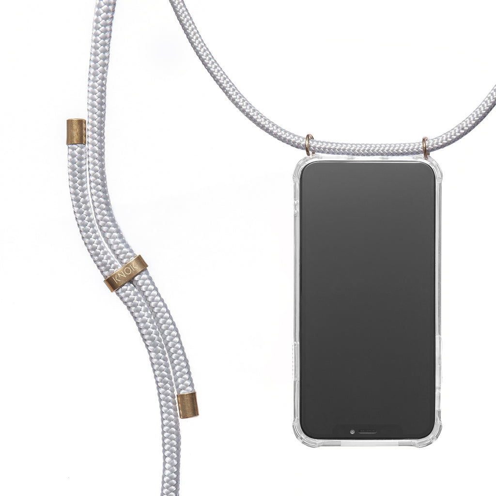 Phone Necklace - Silver Grey - KNOK Berlin
