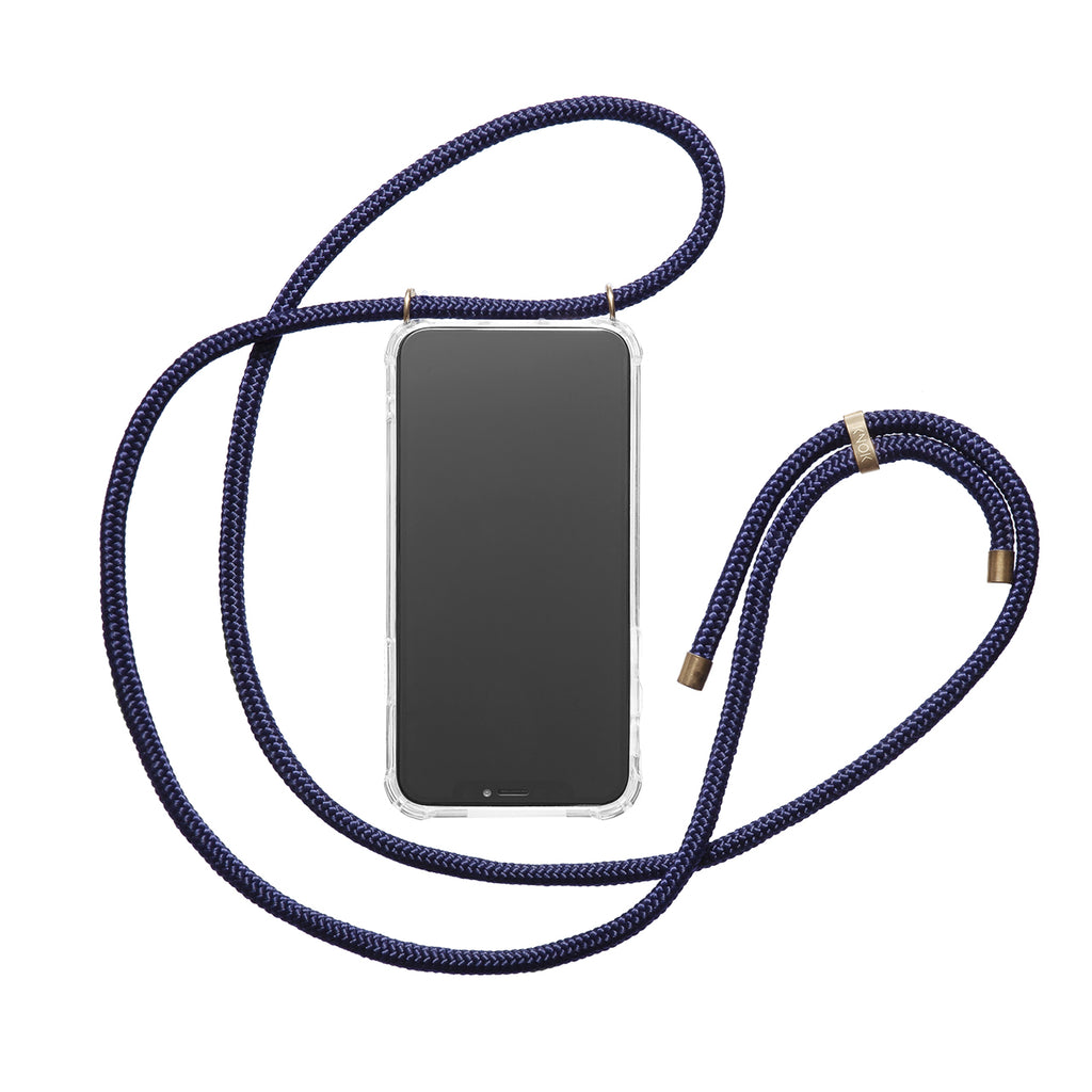 Phone Necklace - Navy - KNOK Berlin