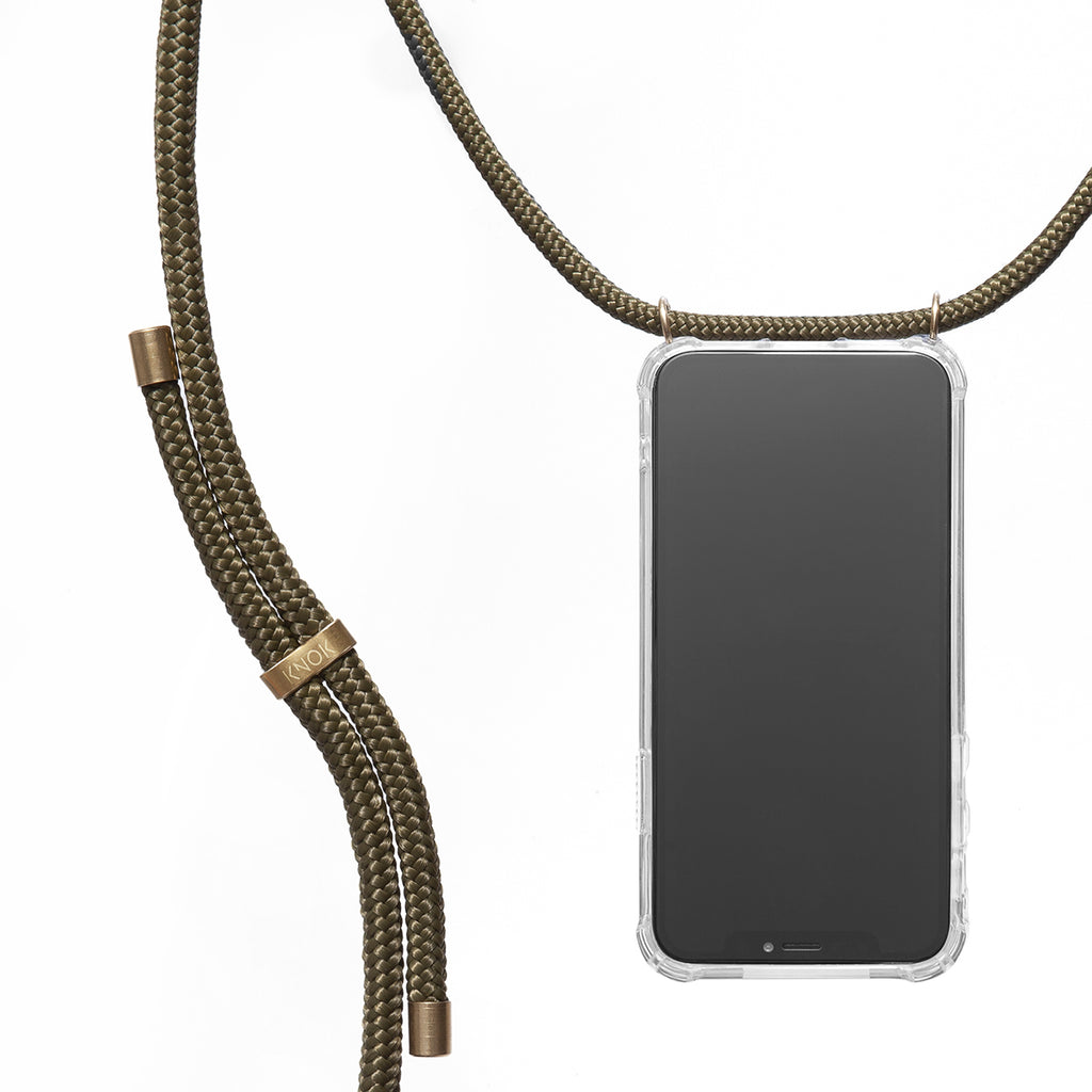 Phone Necklace - Olive - KNOK Berlin