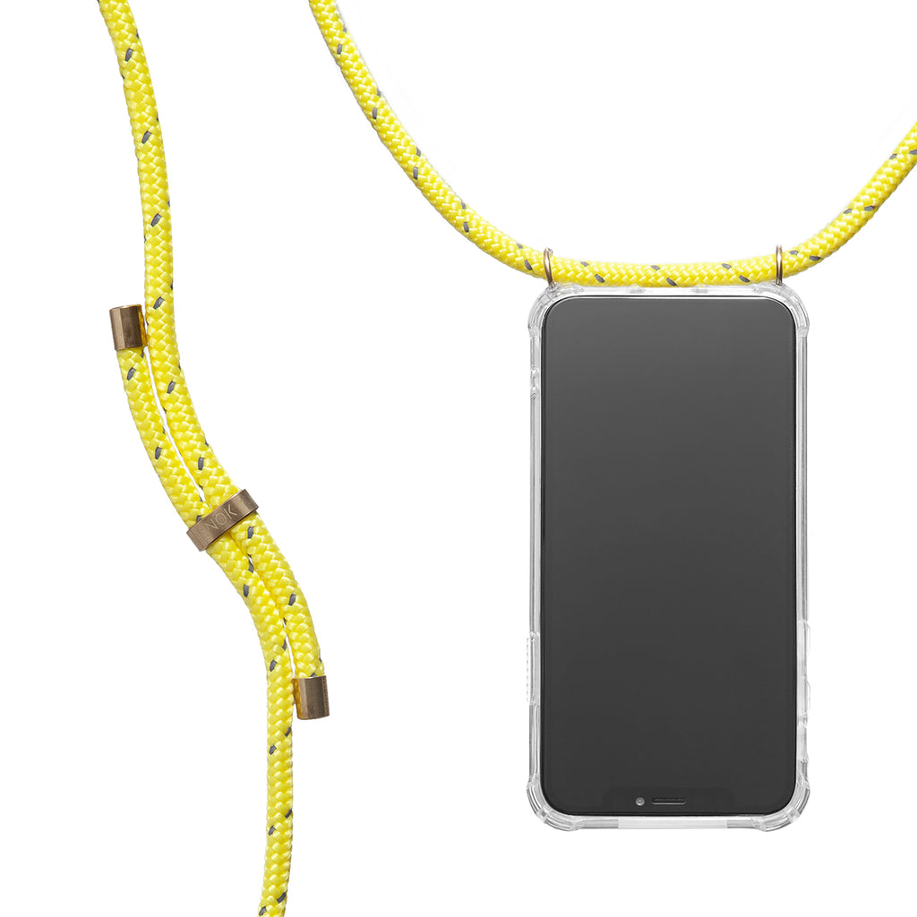 Phone Necklace - Reflect Neon Yellow - KNOK Berlin