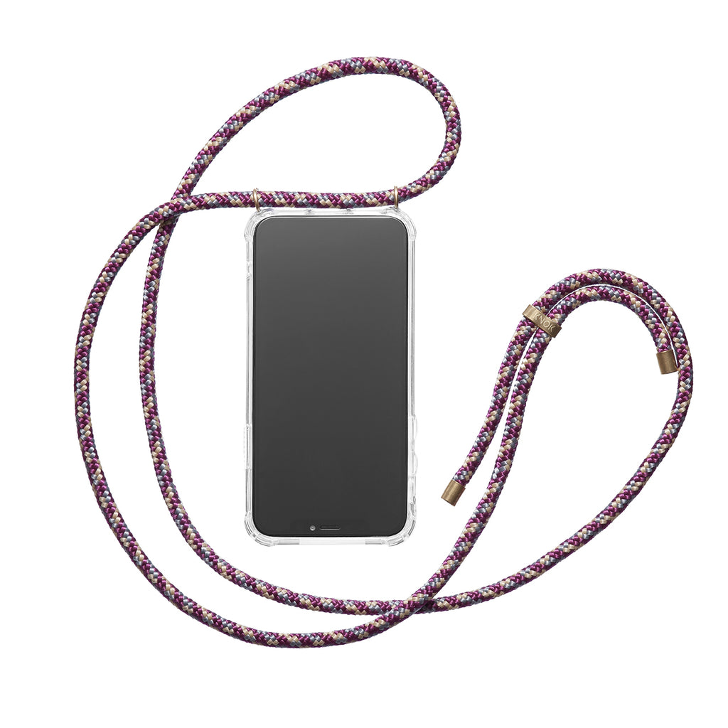 Phone Necklace - Bordeaux - KNOK Berlin