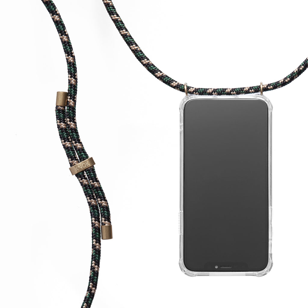 Phone Necklace - Camo Green - KNOK Berlin