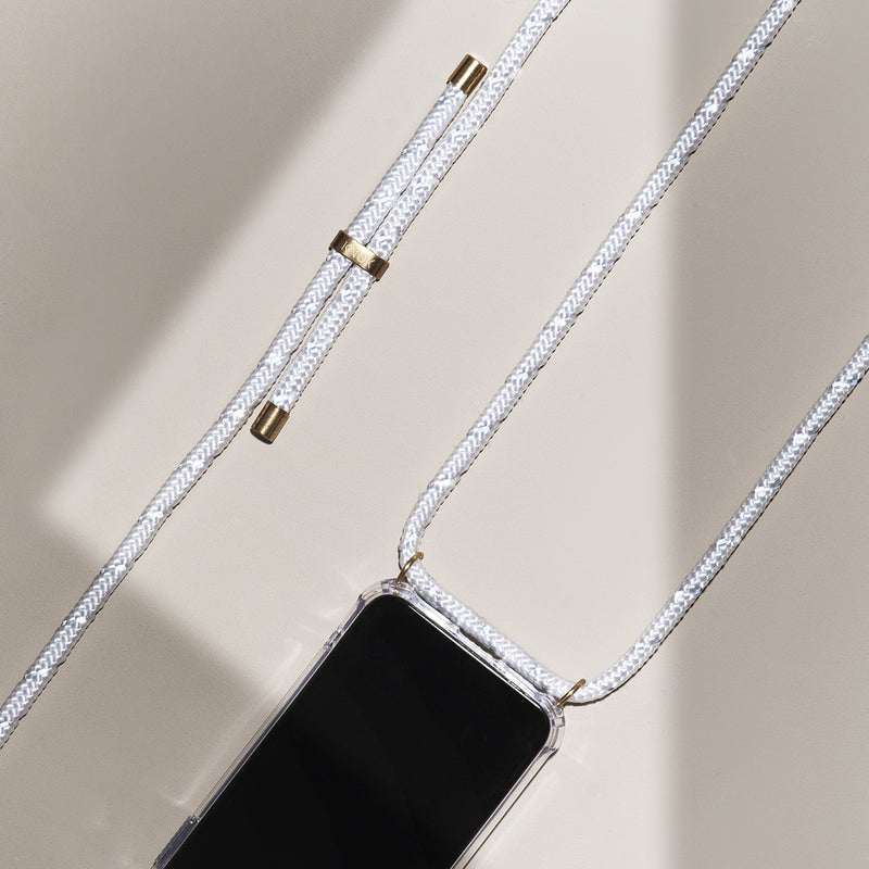 Phone Necklace - Reflect white - KNOK Berlin