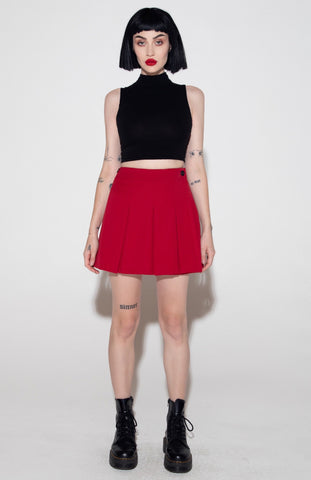 TWO WAY SKIRT - RED