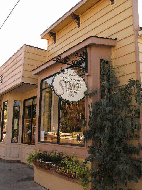 Whidbey Island Soap Company on First Street in Langley
