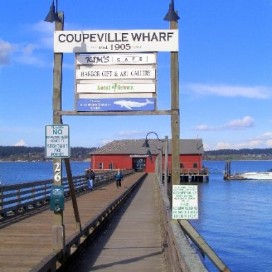 Coupeville Wharf and the long walk
