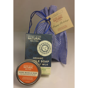 GIFT SET - ONE SOAP BAR | ONE ONE-OUNCE SALVE | GIFT BAG