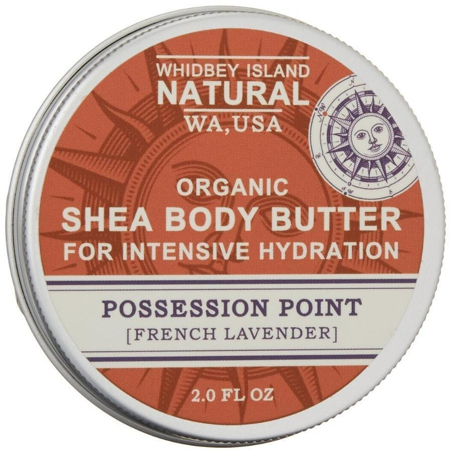 SHEA BODY BUTTER FOR INTENSIVE HYDRATION | POSSESSION POINT | FRENCH LAVENDER | FRONT