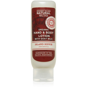 Hand & Body Lotion With Goat Milk | Island Hippie | Patchouli | 4 FL OZ