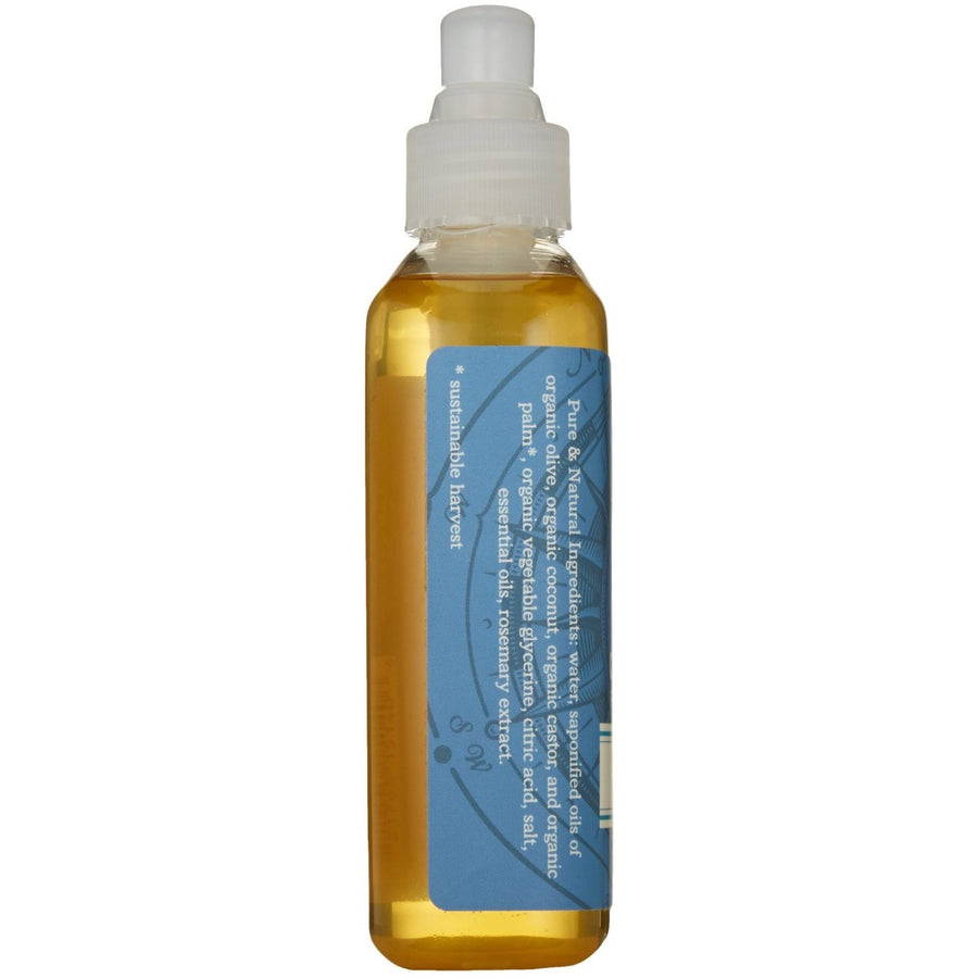 CASTILE LIQUID SOAP FOR FACE & BODY | FORT CASEY | MINT SAGE | INGREDIENTS