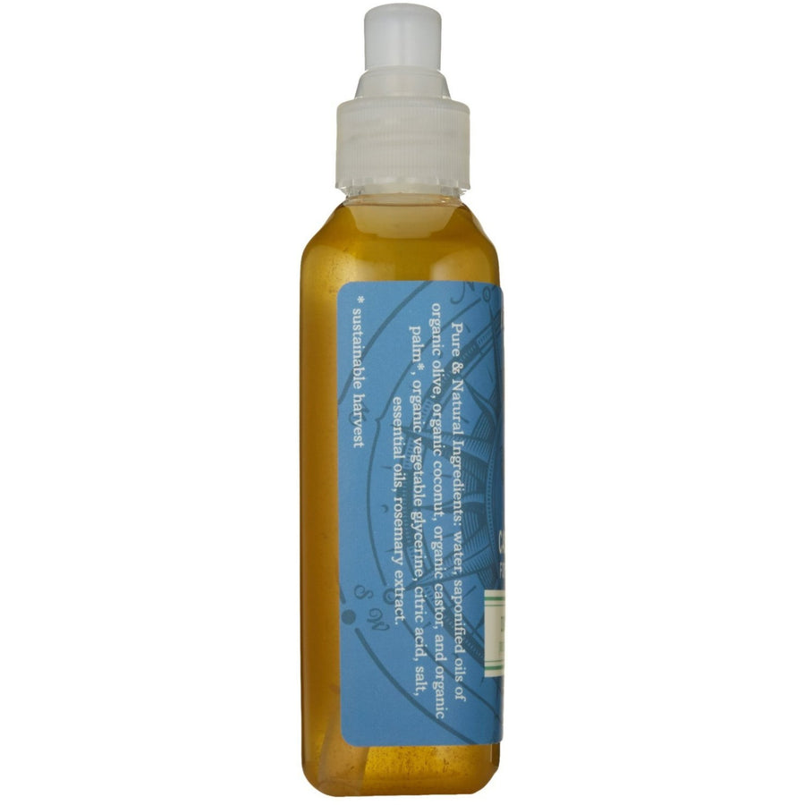 CASTILE LIQUID SOAP FOR FACE & BODY | DECEPTION PASS | ROSEMARY EUCALYPTUS | INGREDIENTS