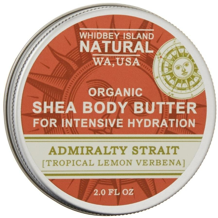 SHEA BODY BUTTER FOR INTENSIVE HYDRATION | ADMIRALTY STRAIT | TROPICAL LEMON VERBENA | FRONT