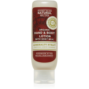 Hand & Body Lotion With Goat Milk  -Admiralty Strait (Tropical Lemon Verbena) 4 FL OZ
