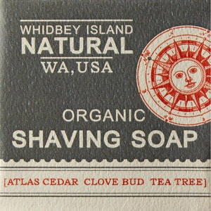 SHAVING BAR | CEDARWOOD GRAPEFRUIT TEA TREE | FRONT
