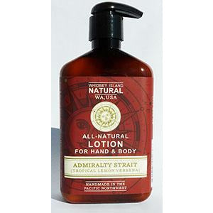 Hand & Body Lotion -Admiralty Strait (Tropical Lemon Verbena) 8 FL OZ NEW FORMULA!