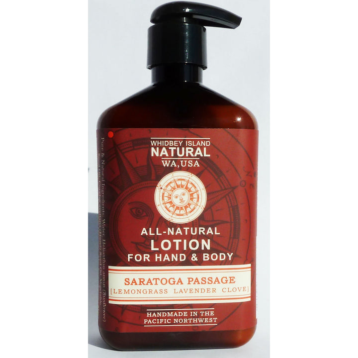 Hand & Body Lotion - Saratoga Passage (Lavender, Lemongrass & Clove) 8 FL OZ NEW FORMULA!