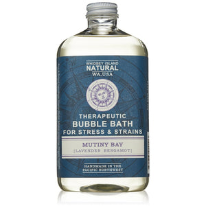 THERAPEUTIC BUBBLE BATH FOR RELAXATION | MUTINY BAY | LAVENDER BERGAMOT | FRONT