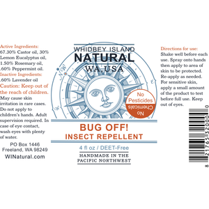 BUG 0FF - ALL-NATURAL MOSQUITO AND BUG REPELLENT