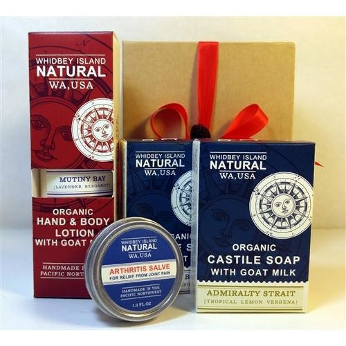 GIFT SET - TWO SOAP BARS | ONE LOTION | ONE SALVE