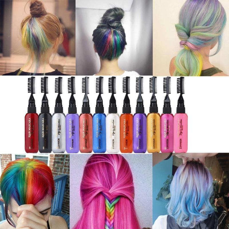 Premiredeals 13 Colors Temporary Hair Dye