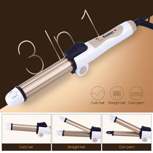 Premiredeals Curling iron 3 in 1