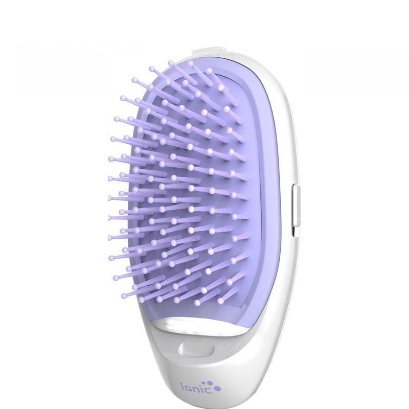 Premiredeals Electric Hair Brushes Purple Dual Ionic Hair Brush