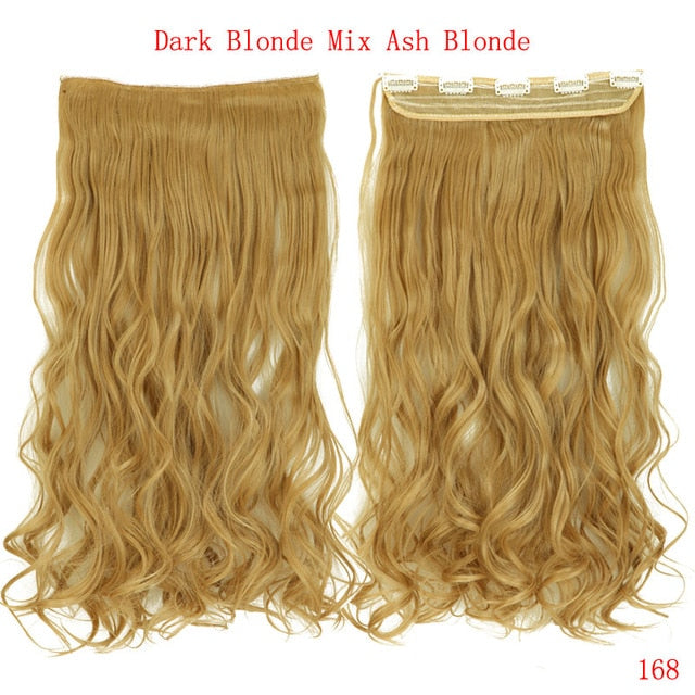 Curly Clip in Hair Extensions