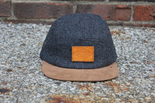 Load image into Gallery viewer, Wool & Suede Premium 5-Panel Camp Hat