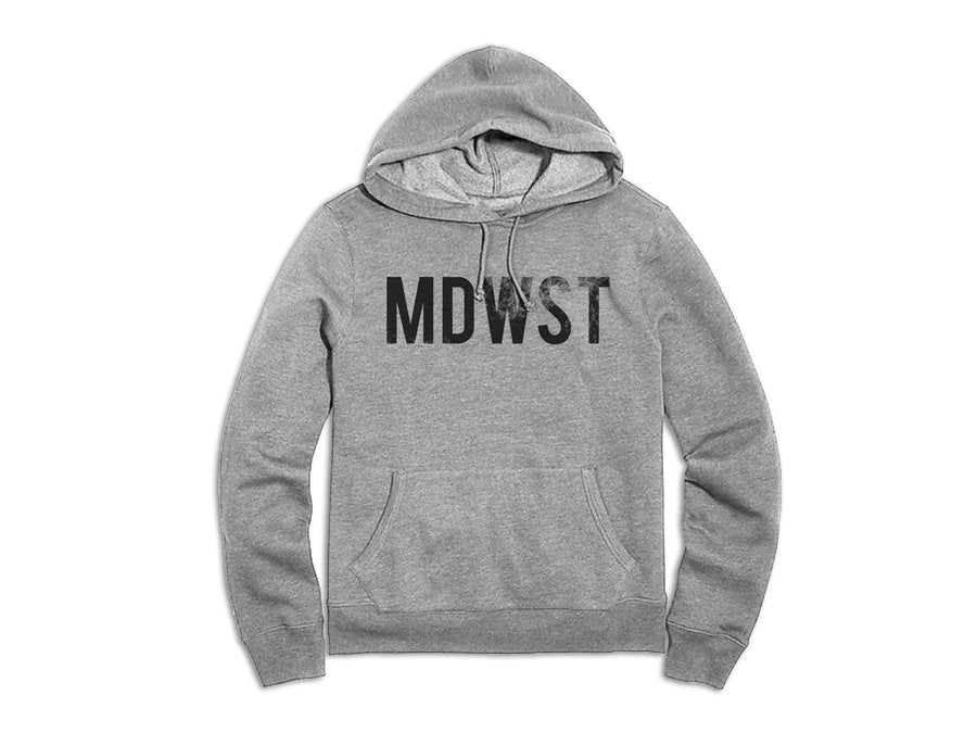 MDWST Hoodie - Heather Grey