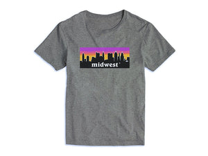 Midwest Pink Sunset Tee (More Colors Available)