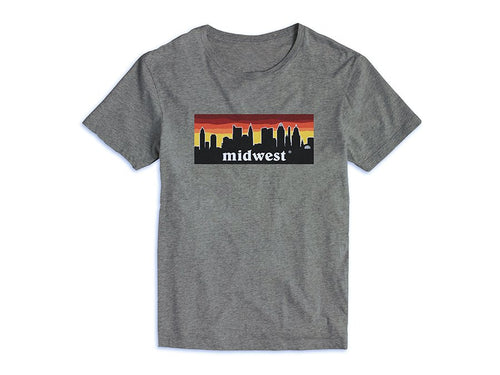 Midwest Red Sunset Tee (More Colors Available)
